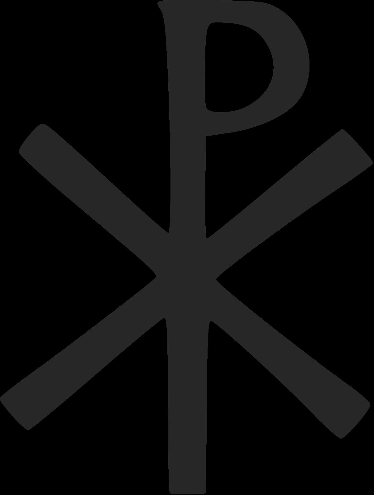 Link chi rho symbol. Crucifix clipart girly