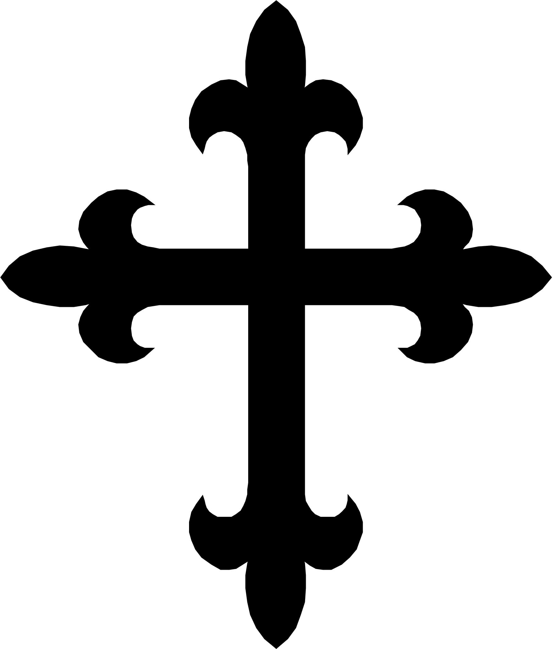 Medieval clipart medieval symbol. Free cross cliparts download