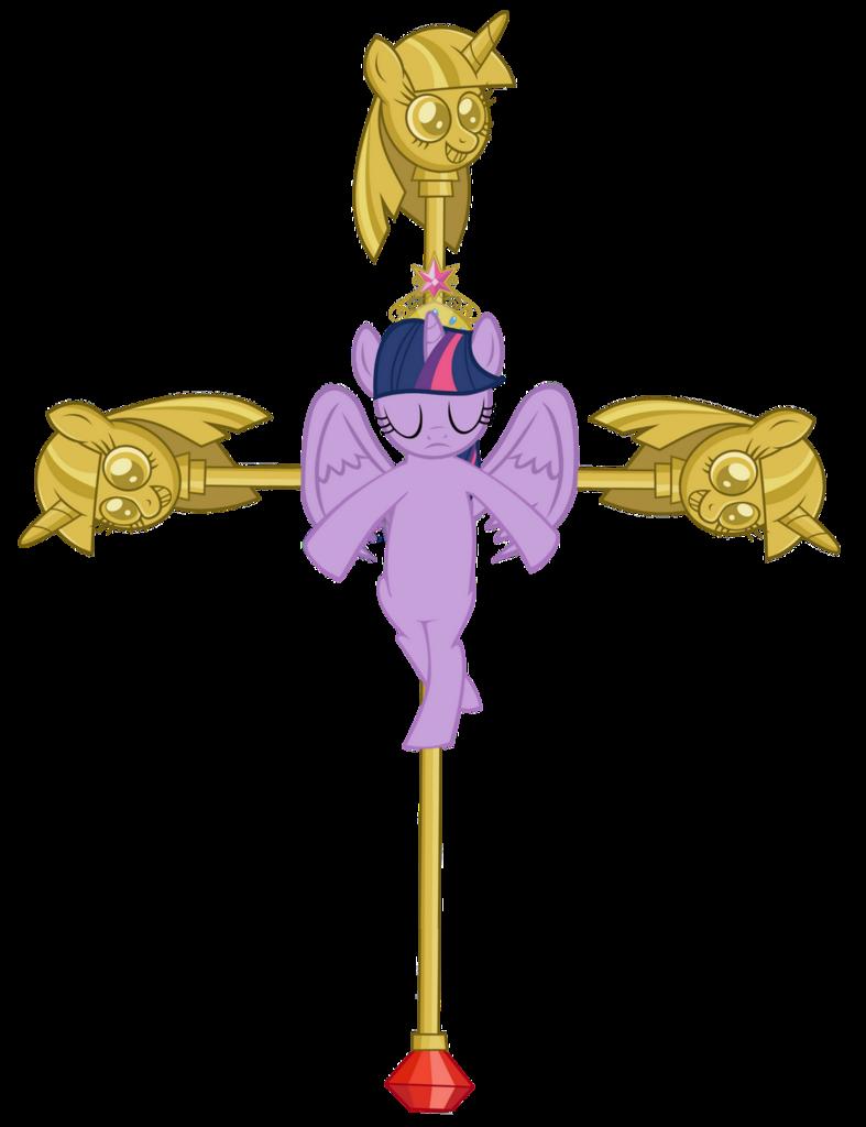 Crucifix clipart shadow.  alicorn big crown