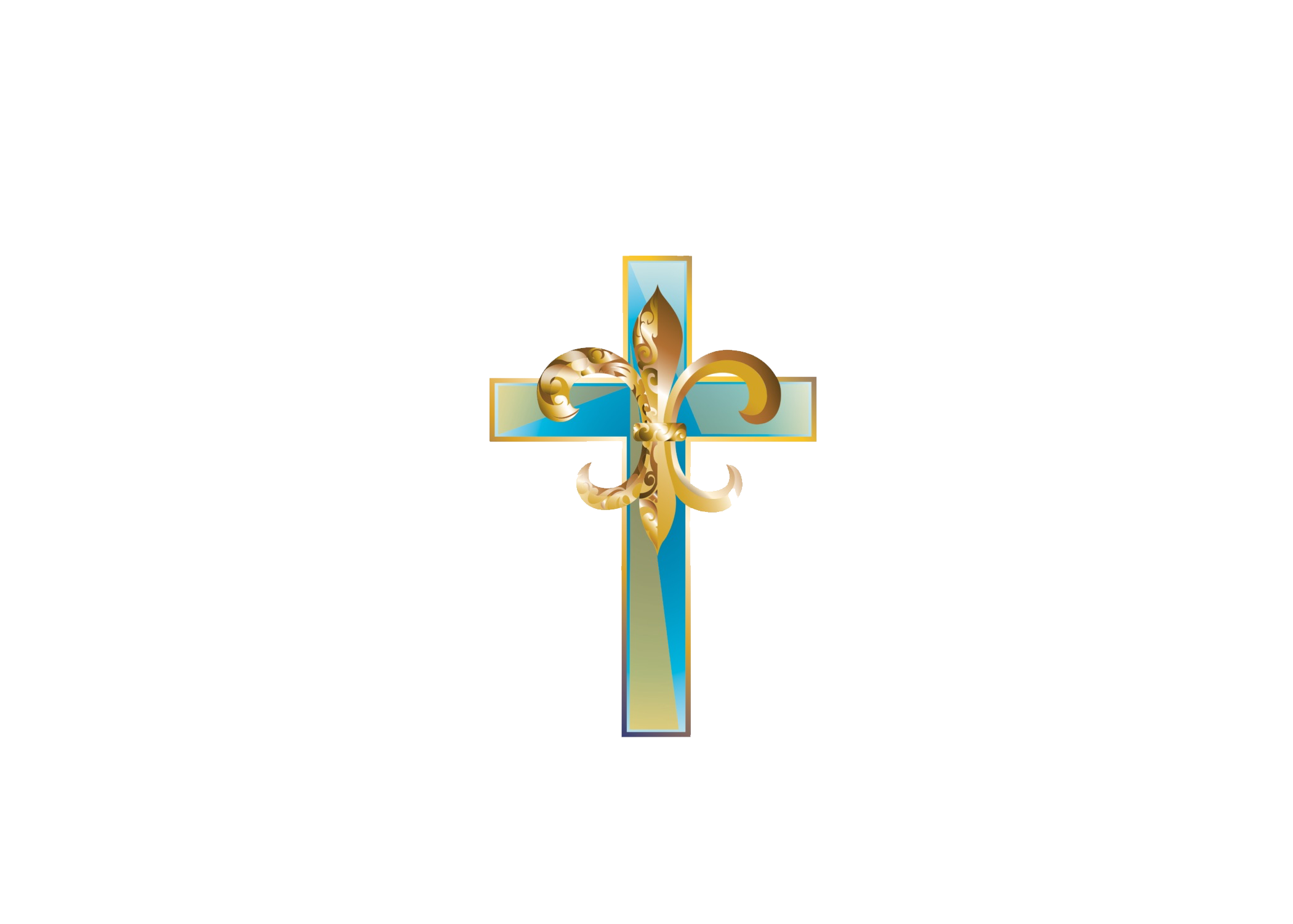 Mt zion assembly healing. Crucifix clipart shadow