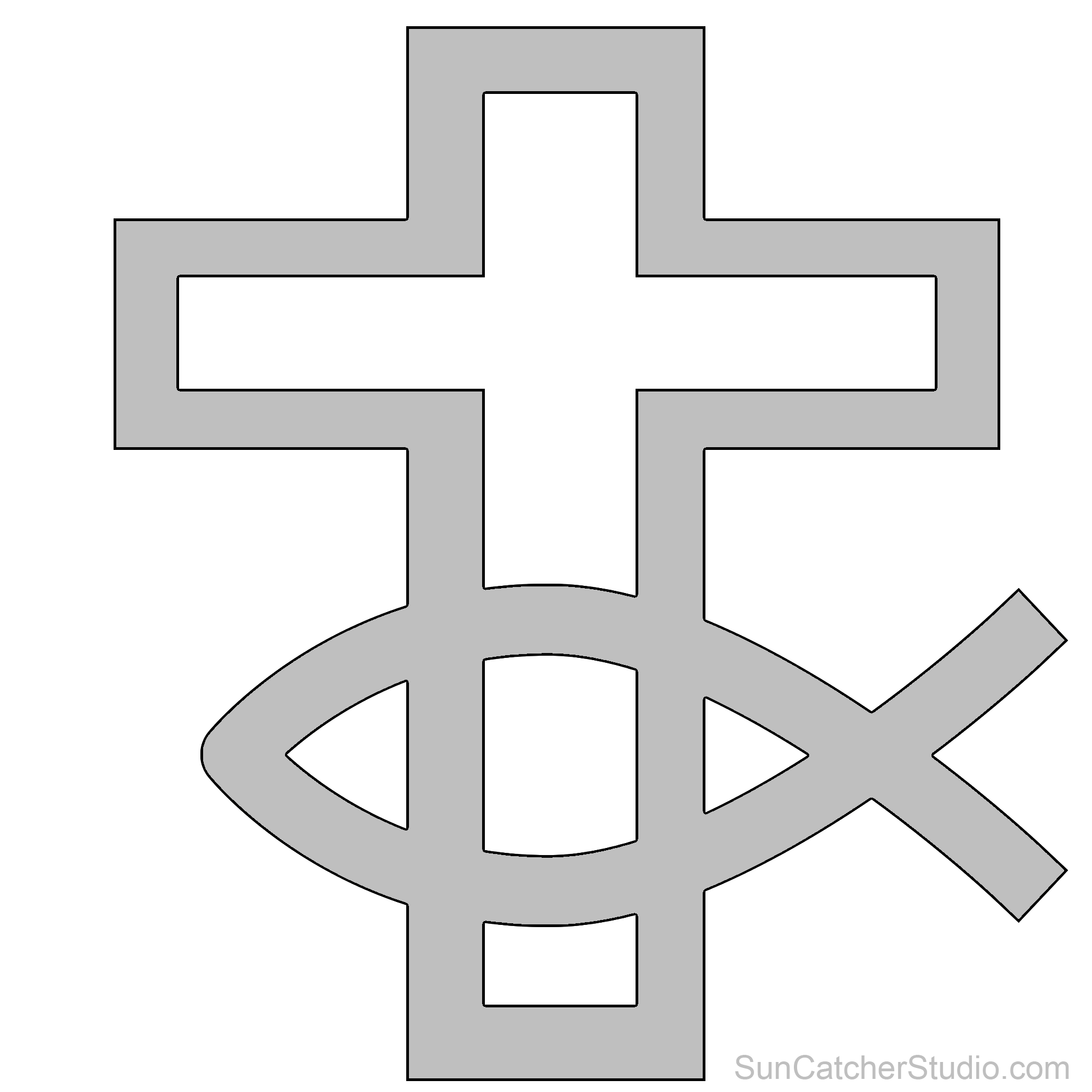Nice crucifix template illustration. Faith clipart cross calvary