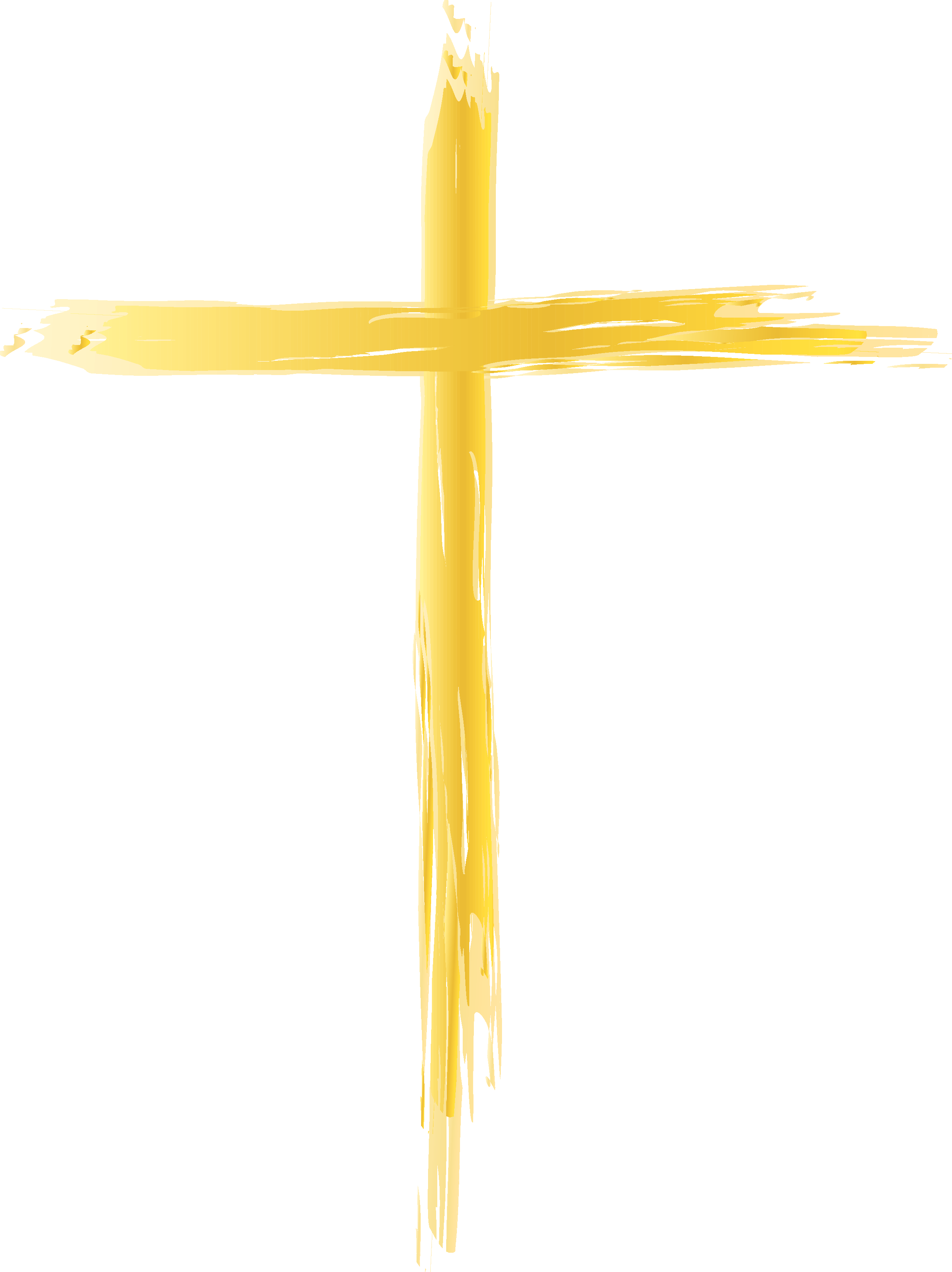 crucifix clipart thin cross