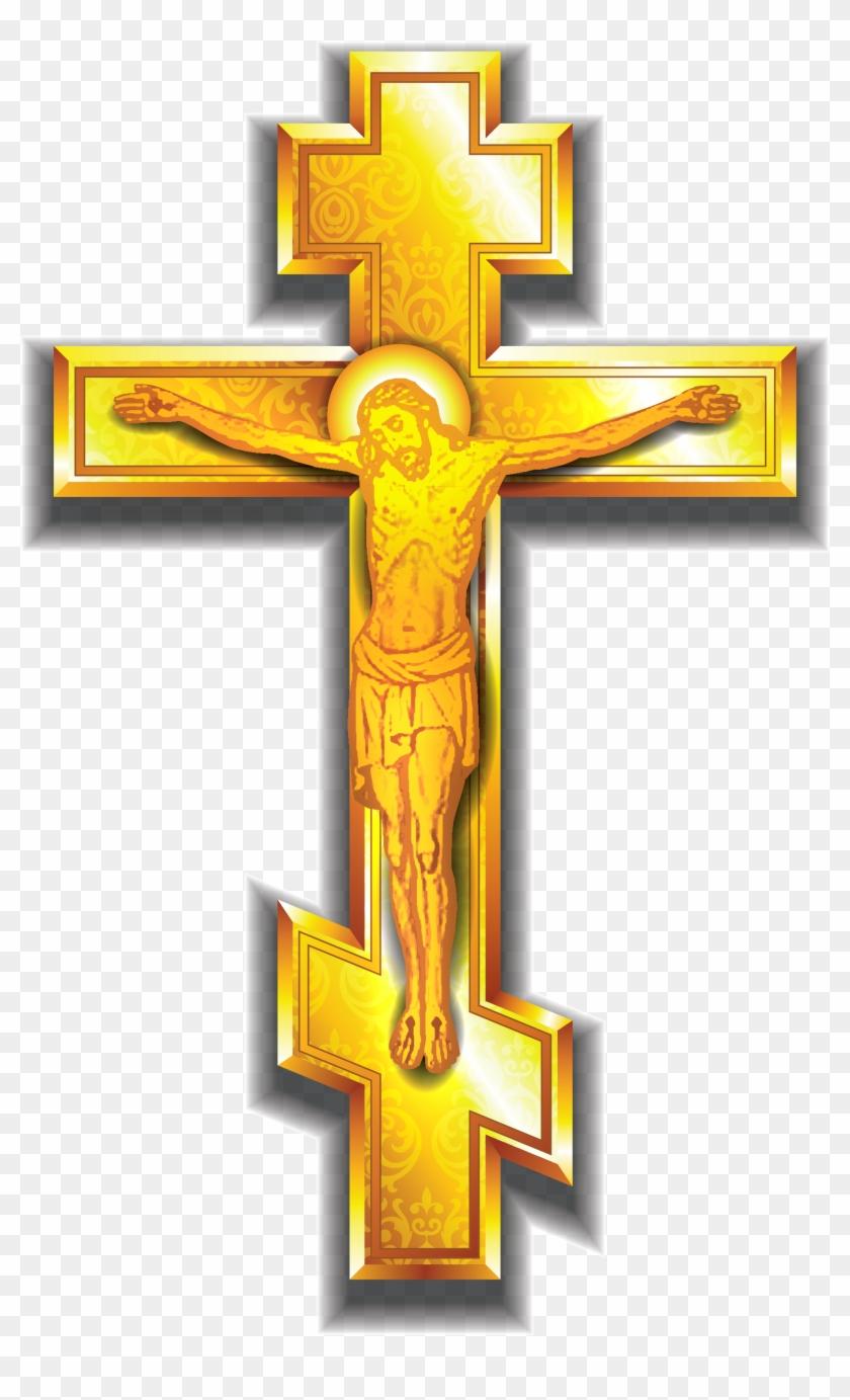 crucifix clipart winter