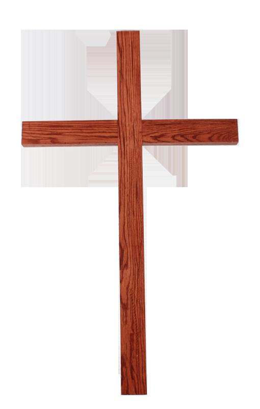 Christian wood church png. Crucifix clipart wooden cross