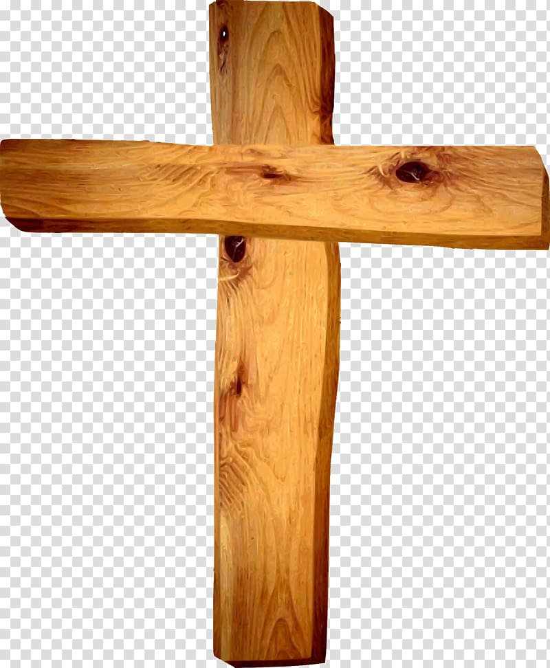 Crucifix clipart wooden cross. Christian transparent background png