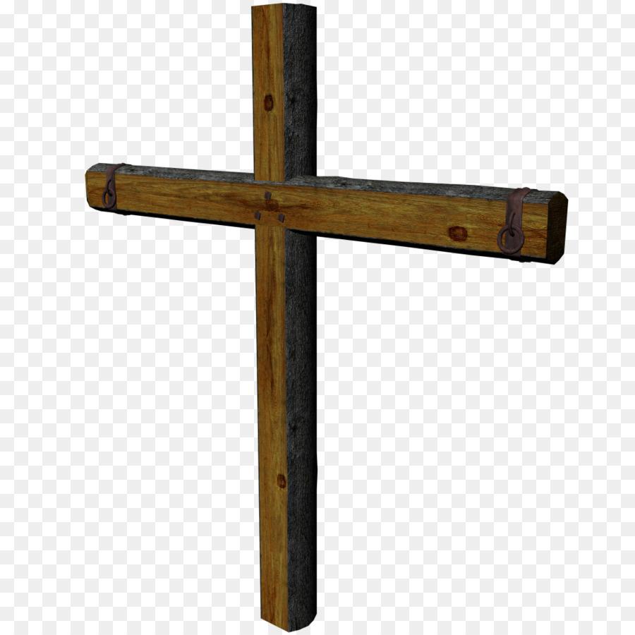 Crucifix clipart wooden cross. Symbol wood transparent clip