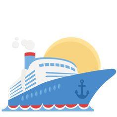 Free ship clip art. Cruise clipart
