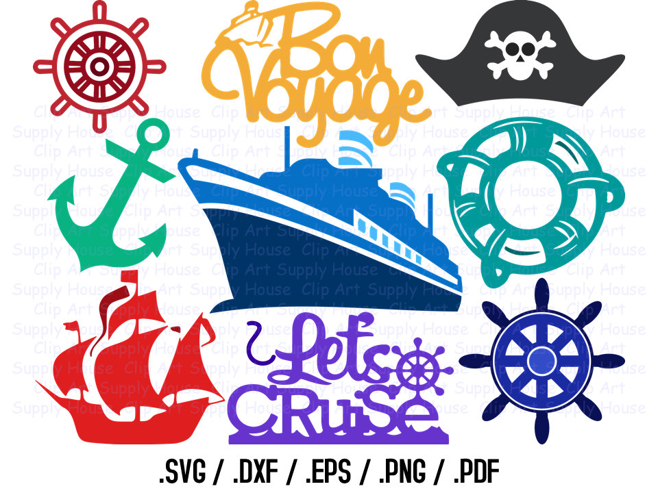 Cruise ship svg files. Carnival clipart silhouette