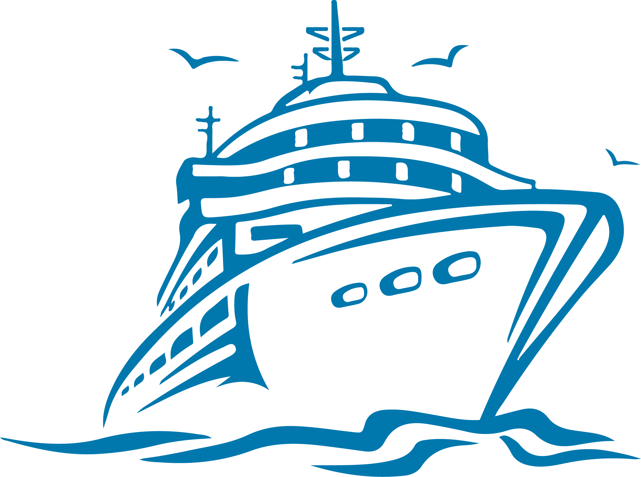 Aida cruise schedule and. Clipart boat ship