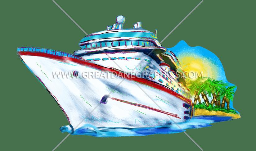 Cruise cartoon