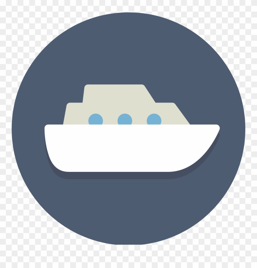 Cruise clipart icon. Image black and white