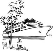 Cruise clipart outline. Free cliparts download clip