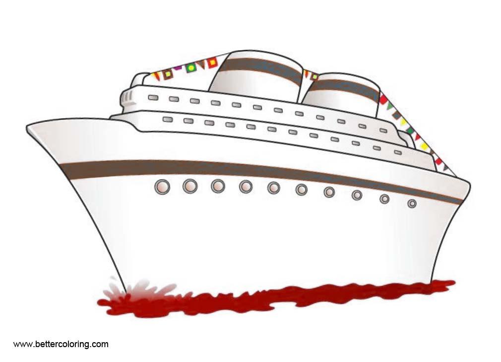 Clip art one the. Cruise clipart sea ship