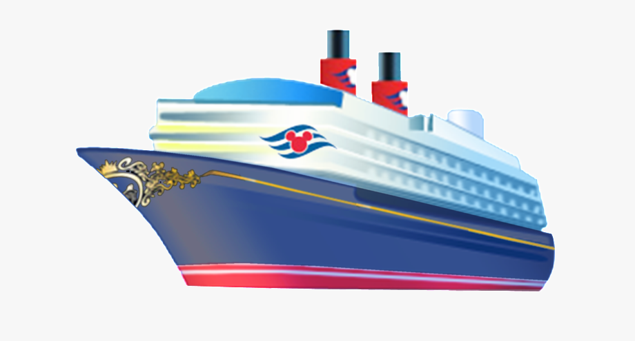 Ship kid cartoon disney. Cruise clipart side view
