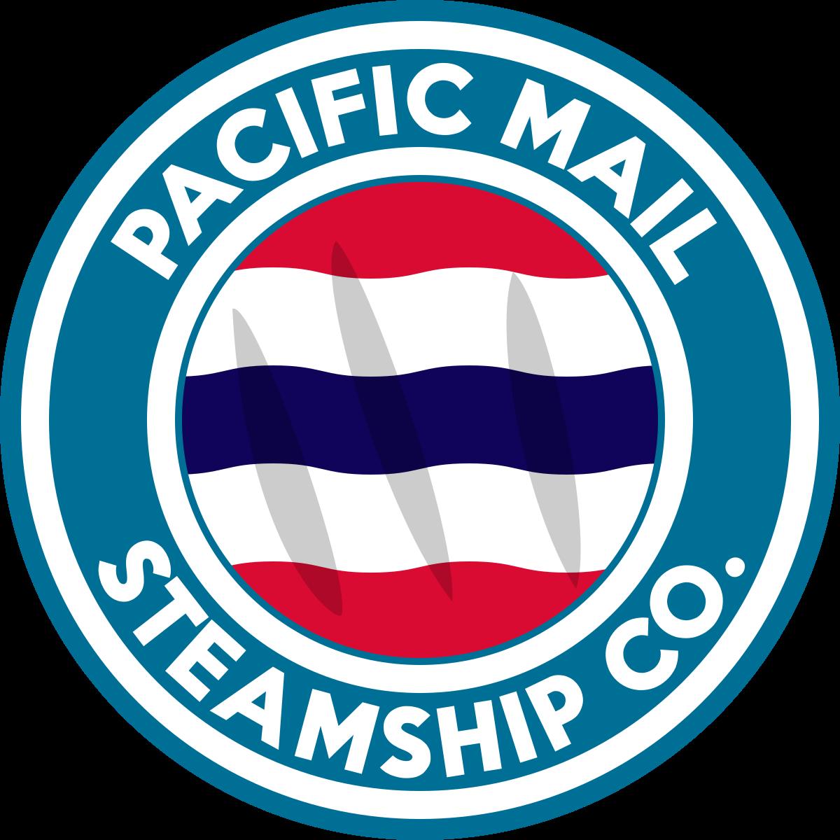 Pacific mail steamship company. Cruise clipart steam ship