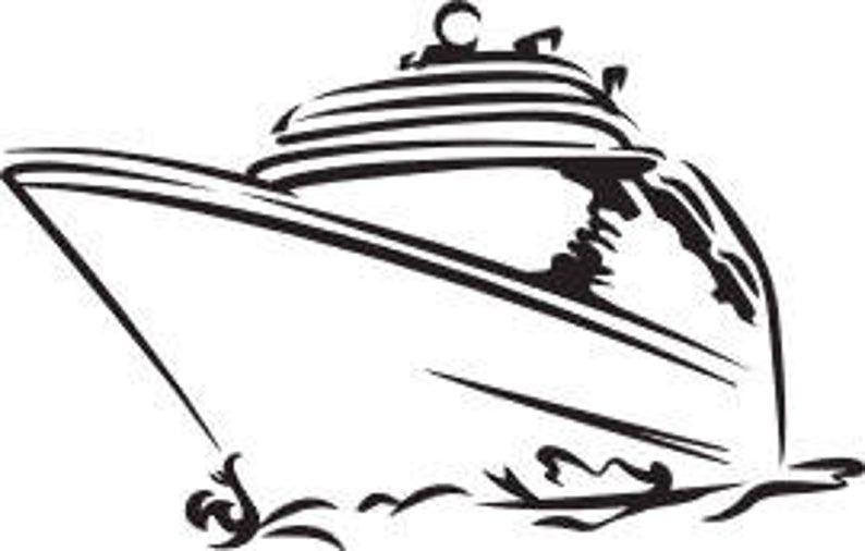 Ship . Cruise clipart svg
