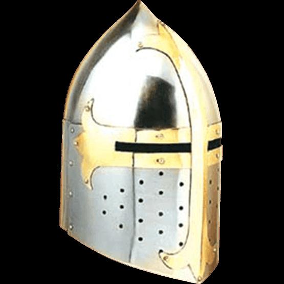 Crusader helmet png. Sugar loaf ah n