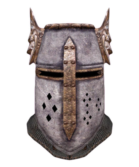 Helm of the elder. Crusader helmet png