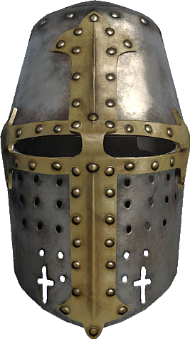 for free download. Crusader helmet png
