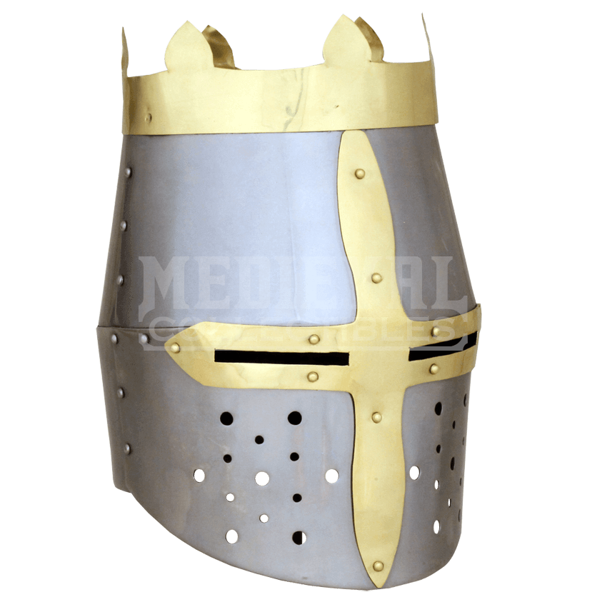 Kings crown medieval great. Crusader helmet png