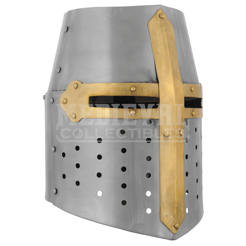 Great helm ab from. Crusader helmet png