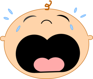 Cry clipart baby mouth. How do you make