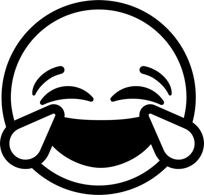 collection of high. Emoji clipart black and white