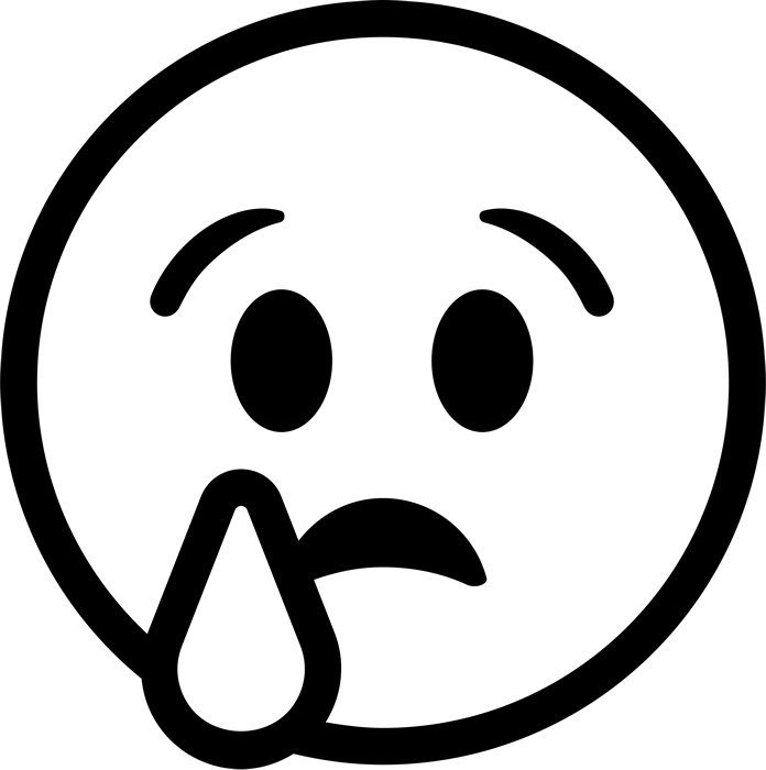 Cry clipart black and white.  collection of crying
