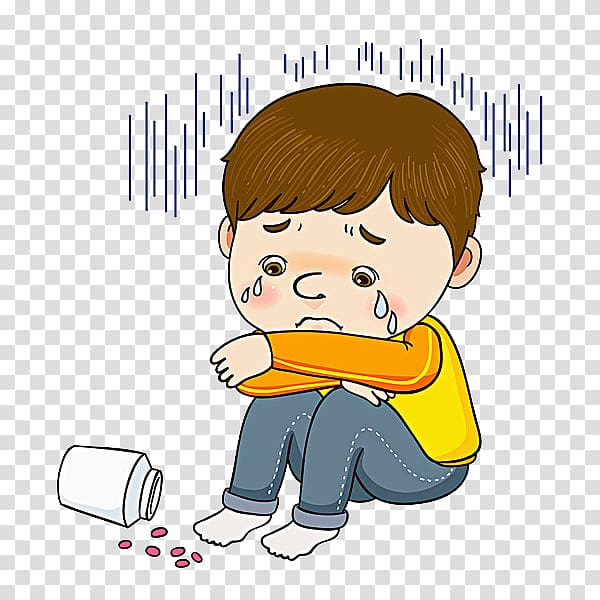 Crying boy illustration the. Cry clipart child cry