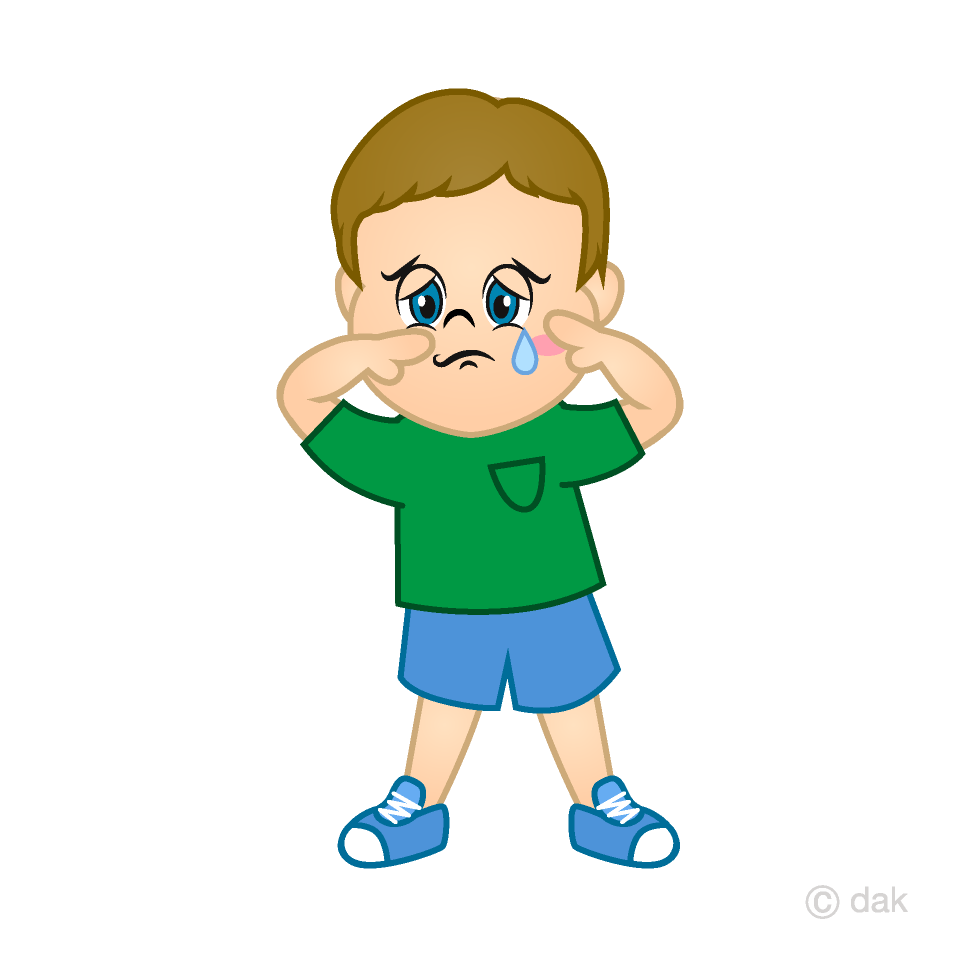 Cry clipart child cry. Crying boy free picture