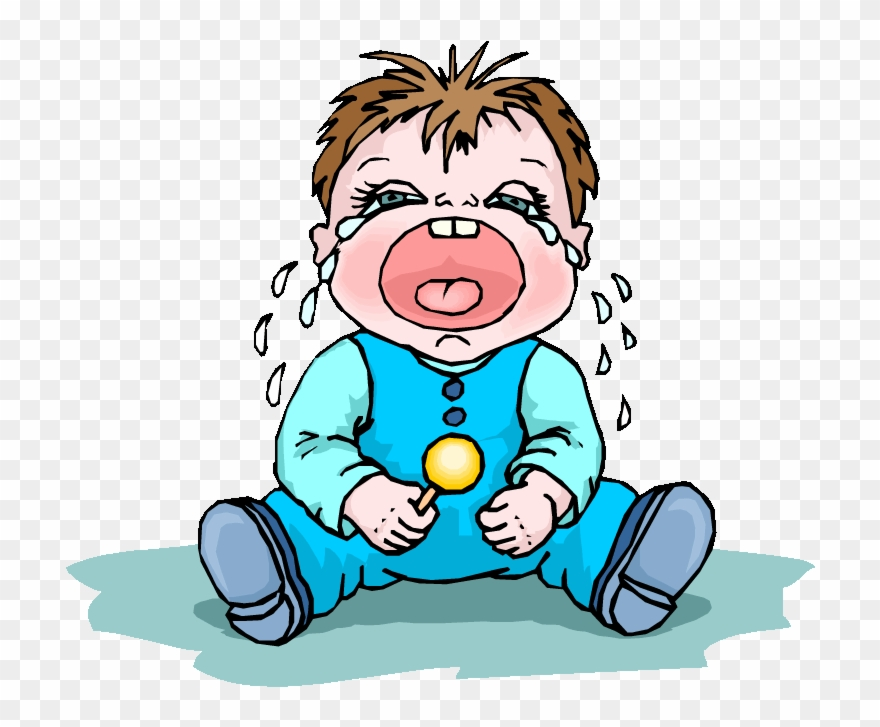 Cry clipart cried. Crying infant the boy