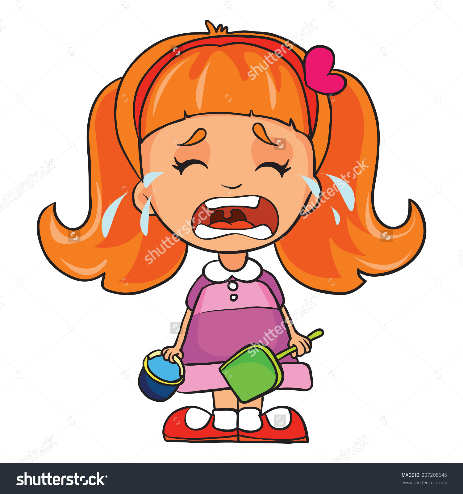 Child crying free download. Cry clipart cried