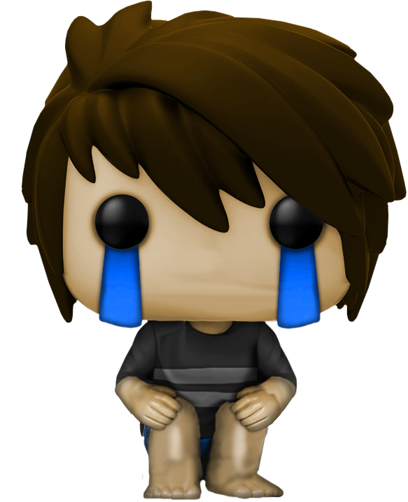Cry clipart cry kid. Crying funkopop by artcomicgamer