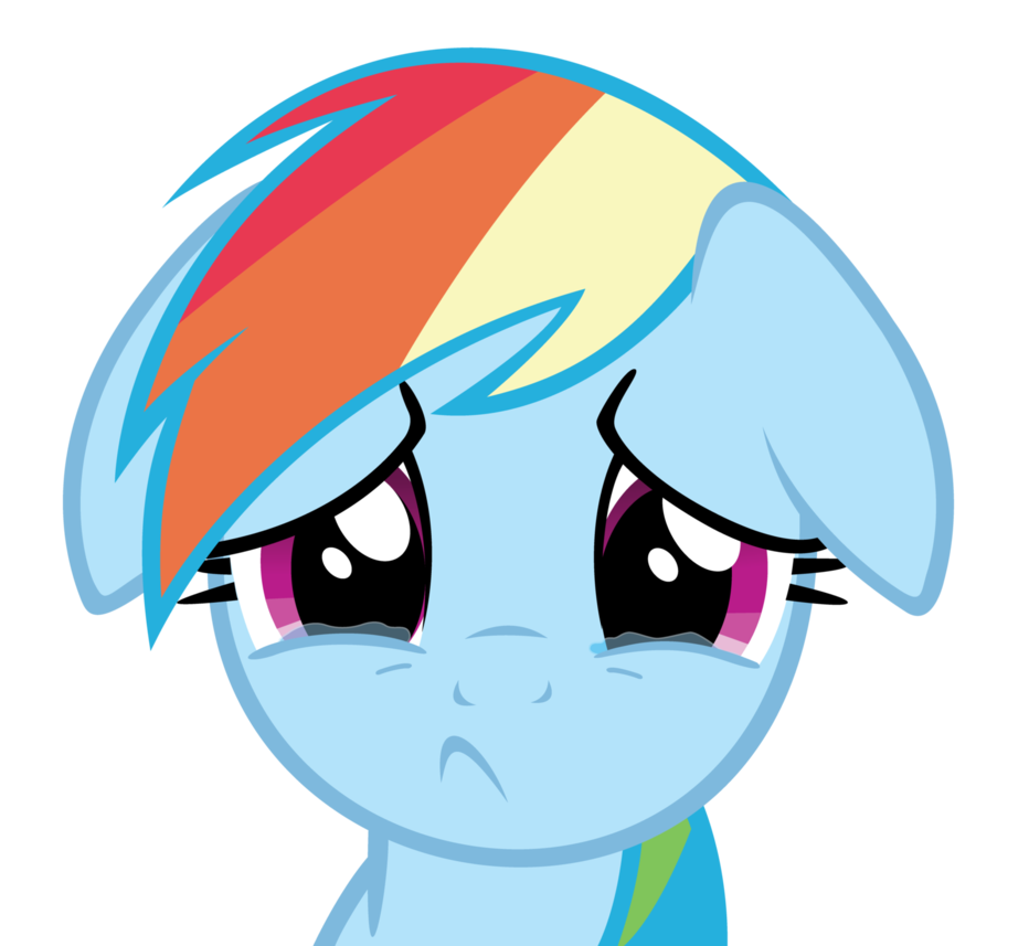 Image rainbow dash by. Cry clipart cry kid