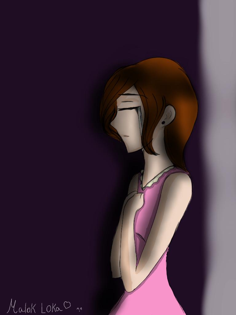 Cry hurt girl