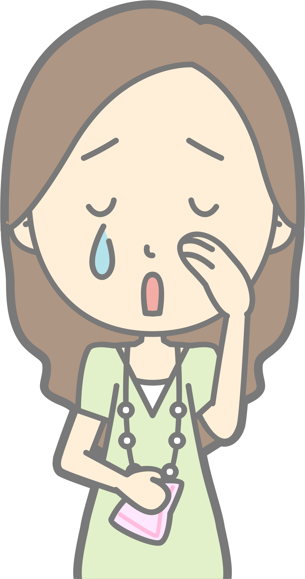 huge freebie download. Young clipart cry