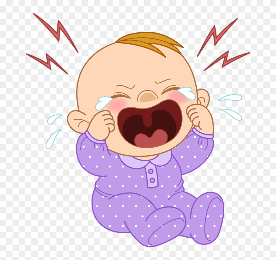 Crying baby drawing at. Cry clipart newborn