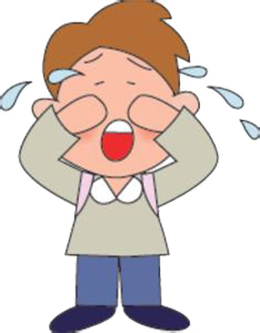 Cry clipart sad little girl. The crying boy illustration