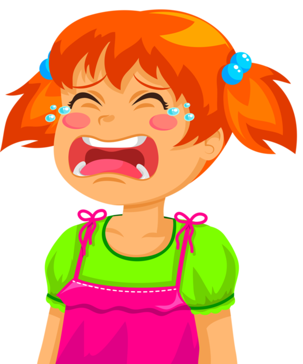 collection of girl. Crying clipart sad lady
