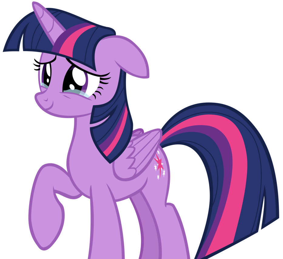 Cry clipart screaming. Twilight sparkle crying happily