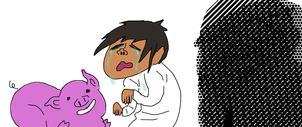 Cry clipart sobbed. Sobbing crying boy and