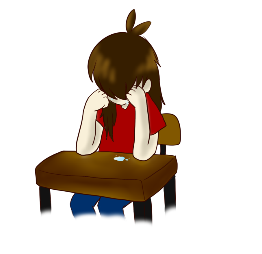 Disappointment png by shadokami. Cry clipart stranger anxiety