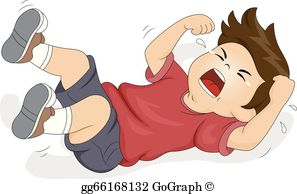 Clip art royalty free. Yelling clipart child tantrum