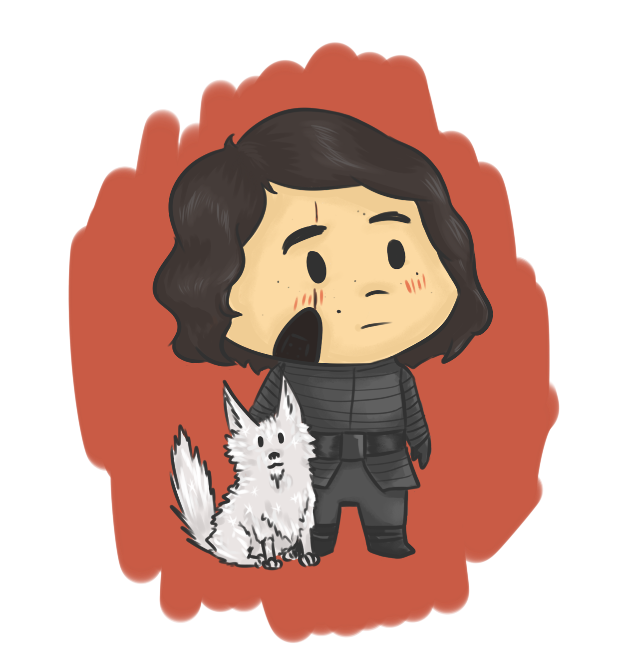 Hurt clipart cut wound. Shamelessly draws kylo ren