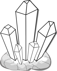 Crystal clipart. Crystals clip art panda