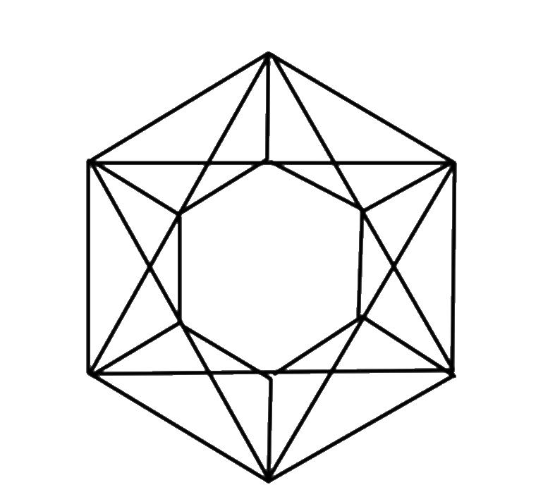 collection of crystal. Gem clipart square gem