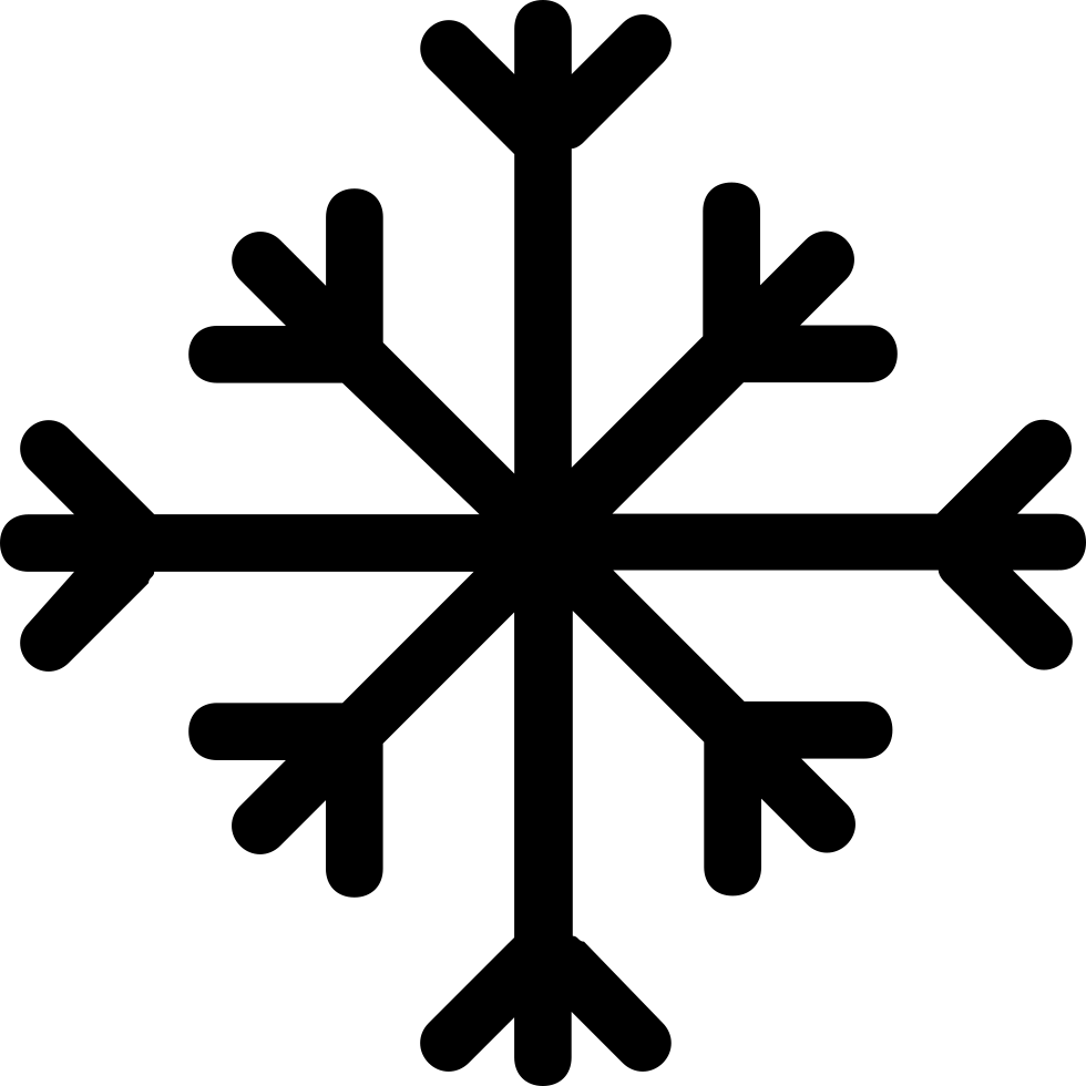 Shape svg png icon. Crystal clipart black snowflake