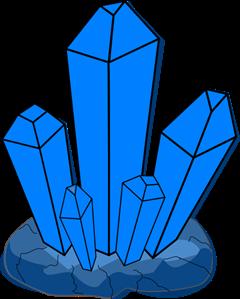 Crystal clipart blue crystal. Png svg clip art