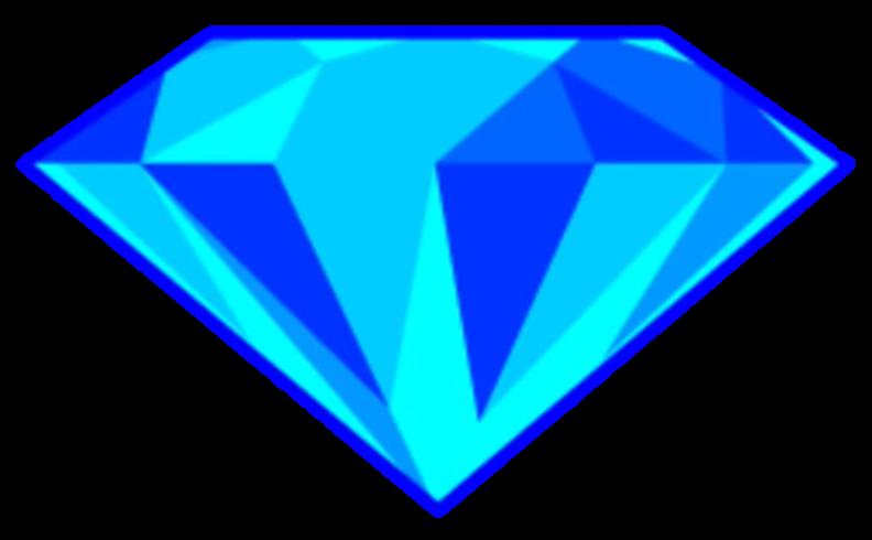 crystal clipart blue crystal