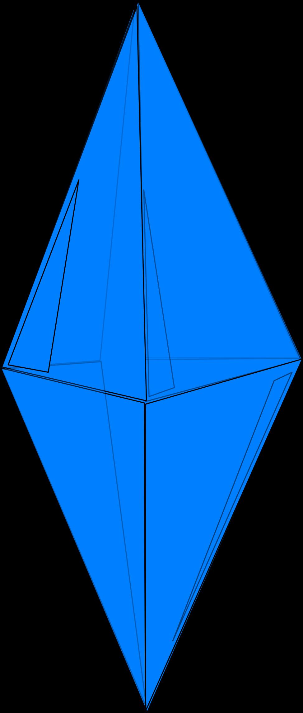 Big image png. Crystal clipart blue crystal